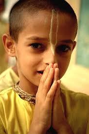 wishing Hare Krishna