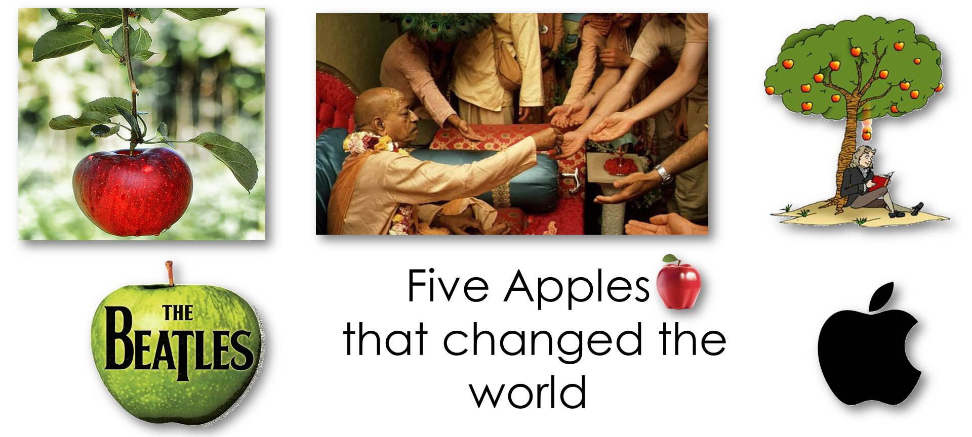 Five Apples that changed the world